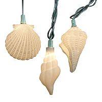 10-Light Shells & Starfish String Lights