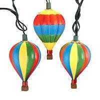 10-Light Hot Air Balloon String Lights