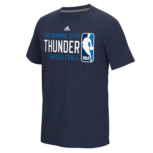 adidas Men's Oklahoma City Thunder Play it Forward Tee