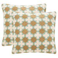 Safavieh Carna 2 pc 20'' x 20'' Throw Pillow Set