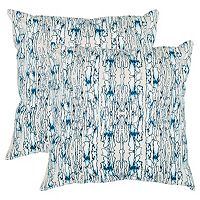 Safavieh Currents 2 pc Throw Pillow Set