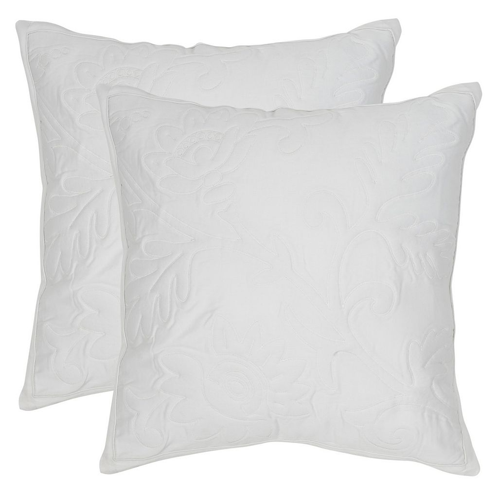 Safavieh Quilted Sunflower 2-pc. Throw Pillow Set