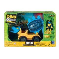 Educational Insights Dino Construction Company Helix Stegosaurus Cement Mixer Play Set