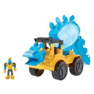 Educational Insights Dino Construction Company Helix Stegosaurus Cement Mixer Play Set