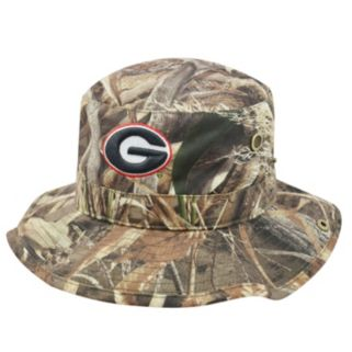 Adult Top of the World Georgia Bulldogs Realtree Camouflage Boonie Max Bucket Hat