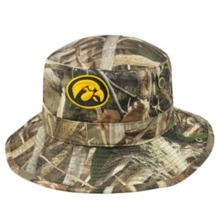 Adult Top of the World Iowa Hawkeyes Realtree Camouflage Boonie Max Bucket Hat