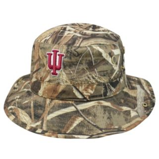 Adult Top of the World Indiana Hoosiers Realtree Camouflage Boonie Max Bucket Hat