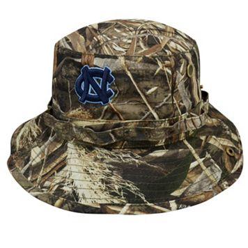 Adult Top of the World North Carolina Tar Heels Realtree Camouflage Boonie Max Bucket Hat