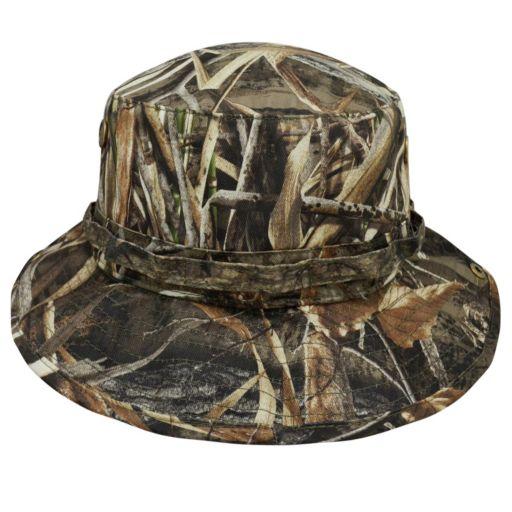 Adult Top of the World North Carolina Tar Heels Realtree Camouflage Boonie Max Bucket Hat