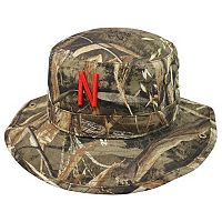 Adult Top of the World Nebraska Cornhuskers Realtree Camouflage Boonie Max Bucket Hat
