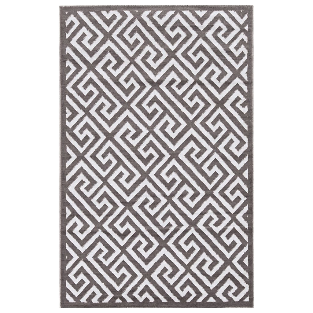 Linon Capri Greek Key Rug - 4'3'' x 7'3''