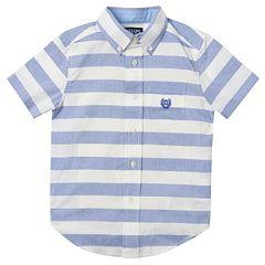 Boys 4-7 Chaps Striped Button-Down Shirt