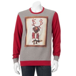 Men's Reindeer Dog Christmas Sweatshirt