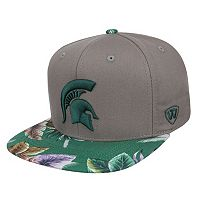 Adult Top of the World Michigan State Spartans Coast Adjustable Cap