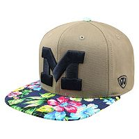 Adult Top of the World Michigan Wolverines Coast Adjustable Cap