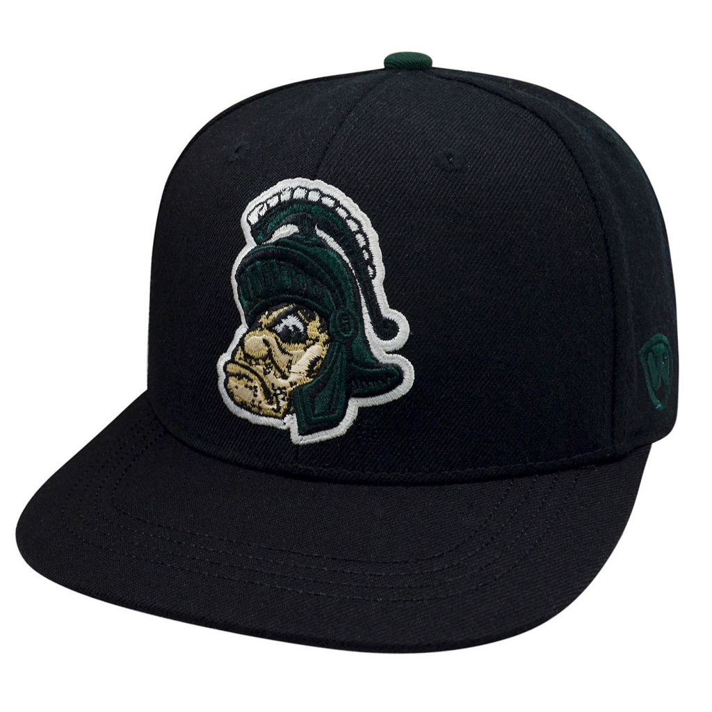 Adult Top of the World Michigan State Spartans Xplosion Adjustable Cap