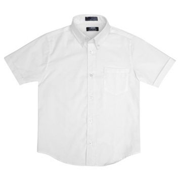 Toddler Boy French Toast Short Sleeve Oxford Button-Down Shirt