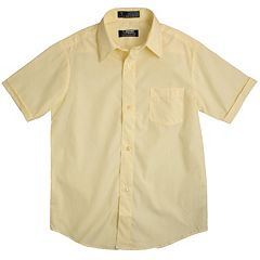 Boys Yellow Button-Down Shirts Tops, Clothing | Kohl's