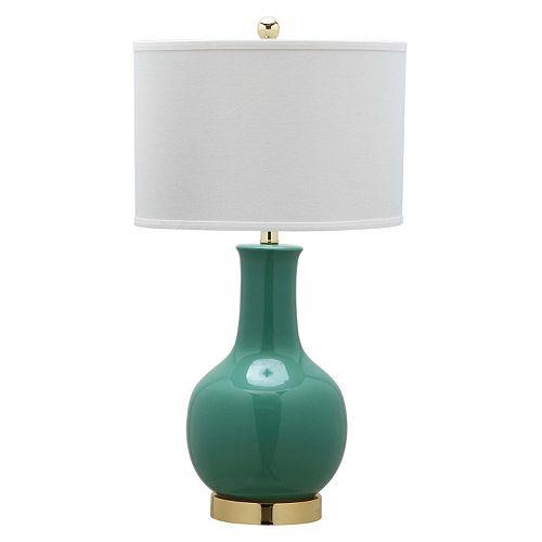 Safavieh Emerald Ceramic Paris Lamp