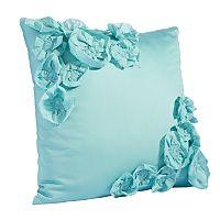 Simply Vera Vera Wang Intersect Floral Applique Throw Pillow