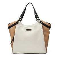 Dana Buchman Bluebell Leather Tote