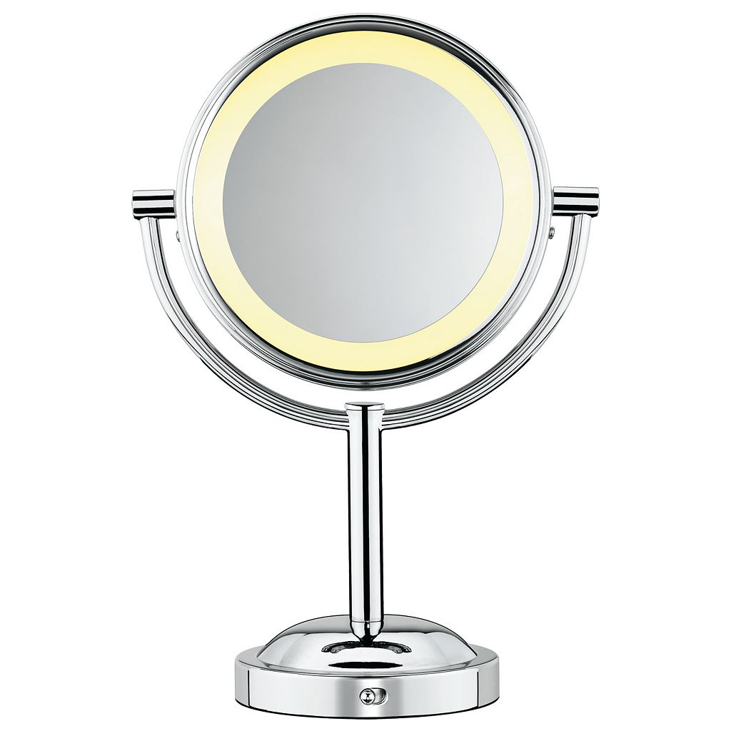 Conair Double-Sided Lighted Swivel Vanity Mirror