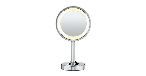 Conair Double Sided Lighted Round Vanity Mirror