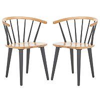 Safavieh Blanchard Side Chair 2 pc Set