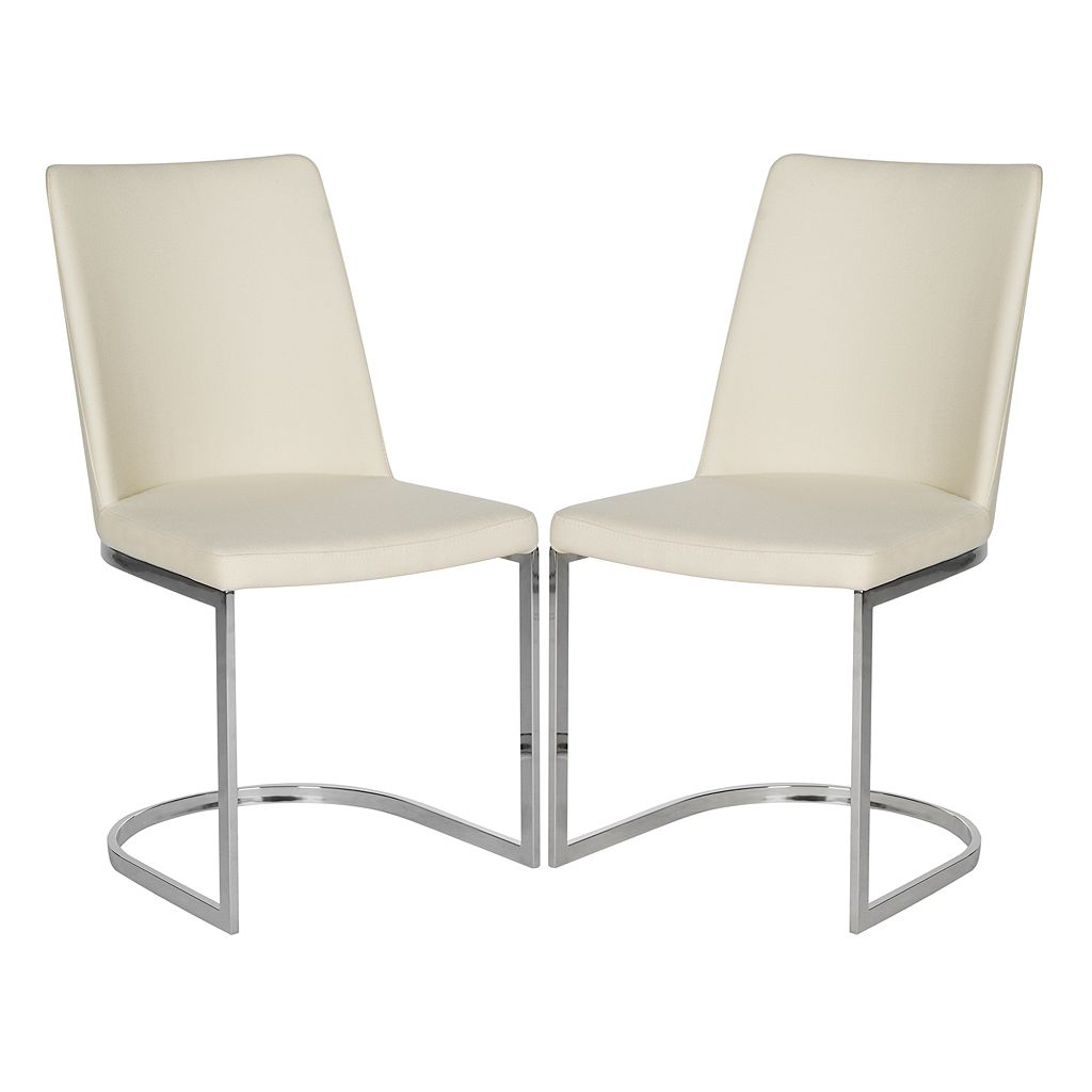 Safavieh Linen Parkston Side Chair 2-piece Set