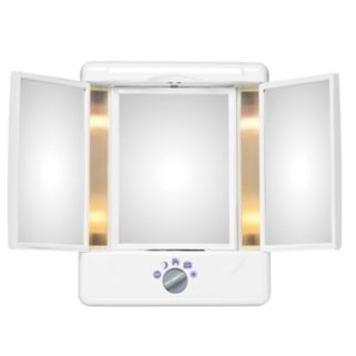 Conair Illumina Collection 3-Panel Lighted Makeup Mirror