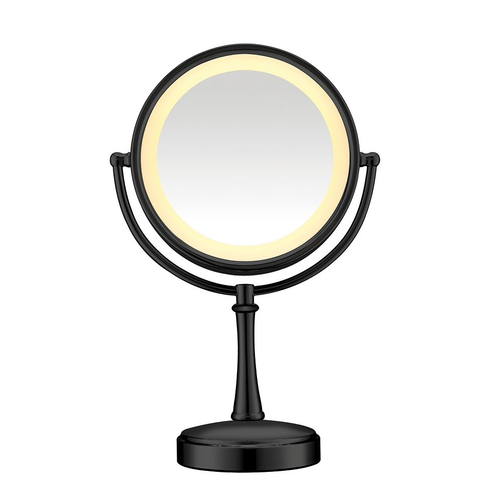 Lighted Makeup Mirror.Conair Touch Control Lighted Vanity Mirror