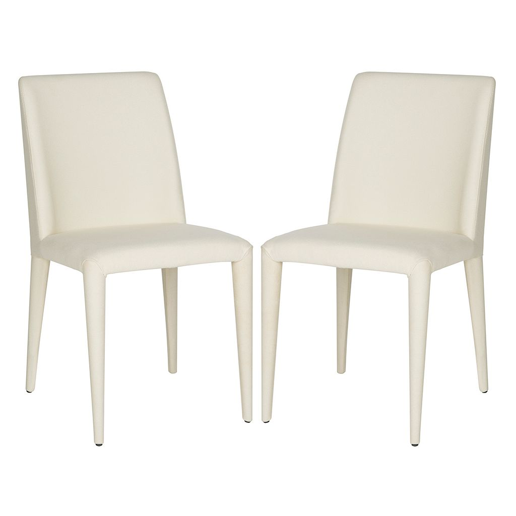 Safavieh Garretson Linen Side Chair 2-piece Set
