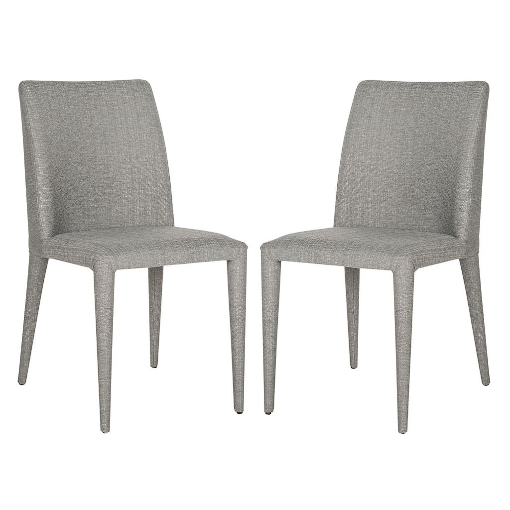 Safavieh Garretson Linen Side Chair 2-piece Set