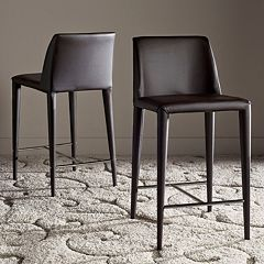 Safavieh Garretson Counter Stool 2 pc Set