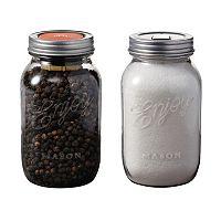 Chef'n Mason 2 pc Pepper Grinder & Salt Shaker Set
