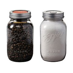 Chef'n Mason 2-pc. Pepper Grinder & Salt Shaker Set