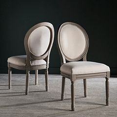 Safavieh Holloway Oval Side Chair 2-Piece Set
