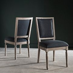 Safavieh Buchanon Rectangular Side Chair 2 pc Set