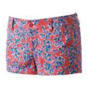 SO® Chino Shortie Shorts - Juniors