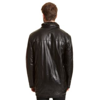 Big & Tall Excelled Sheepskin Leather Jacket