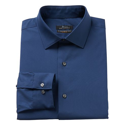 Men's Marc Anthony Slim-Fit Non-Iron Stretch Dress Shirt