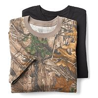 Men's Hanes Ultimate 3-pack Realtree Camo Crew Tees