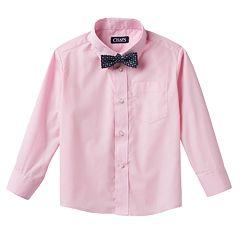 Chaps Button-Down Shirt & Bow Tie Set - Boys 4-7