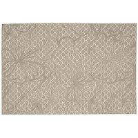 Nourison Escalade Scalloped Abstract Rug