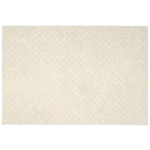 Nourison Escalade Scalloped Abstract Rug