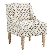 Deals on Charlotte Swoop Arm Accent Chair + Free $20 Kohls Cash