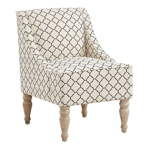 Sensational Charlotte Swoop Arm Accent Chair Beatyapartments Chair Design Images Beatyapartmentscom