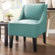 Charlotte Swoop Arm Accent Chair