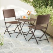 SONOMA Goods for Life? Folding Bistro Table & Chairs 3-piece Set
