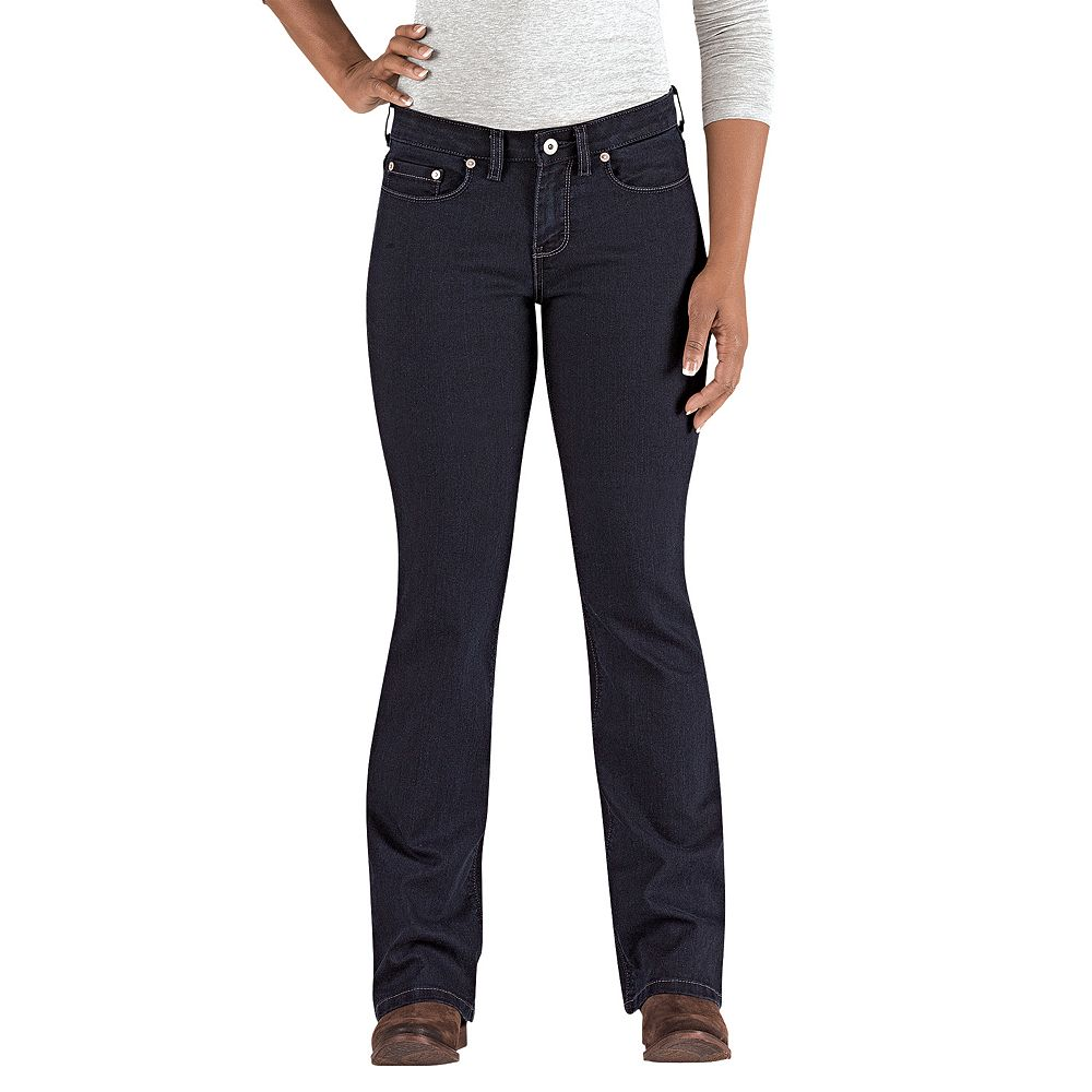 Dickies Curvy Fit Bootcut Jeans - Women's